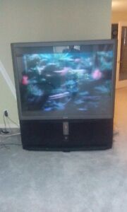 """60"""" sony rear projection TV Stratford Kitchener Area image 1"""