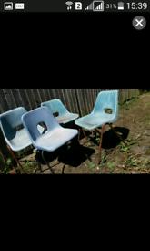 Garden 4 chairs