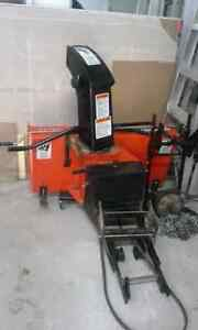 Kabota lawntractor and snow blower Cambridge Kitchener Area image 7
