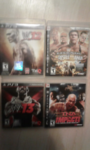 Wwe games for ps3