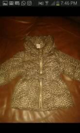 H&M coat. 3-6m