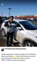 Limited time offer! BPro Driving School - Driving Lessons $450