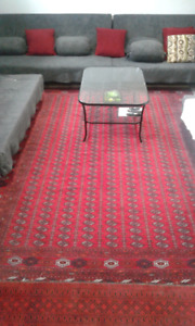 Afghan wool rug for sale
