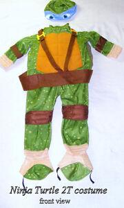Toddler 3, Rubie's Teenage Ninja Turtle costume, like new