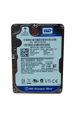 "Used, Western Digital WD Scorpio Blue WD6400BPVT 640GB 2.5"" SATA II Laptop Hard Drive for sale  Shipping to Nigeria"