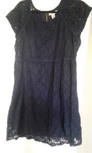 Xl navy maternity dress