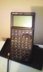 Calculatrice grafique sharp EL9600C