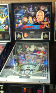 wanted pinball machines and related parts working or not