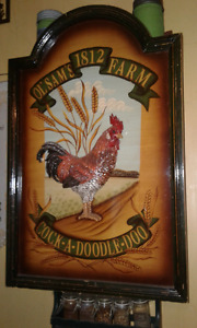 Wood Rooster picture