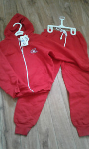 Montreal Canadiens Track Suit   NEW