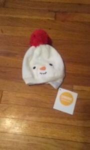 Babies Gymboree 0-3 Month Snowman Hat.New with tag