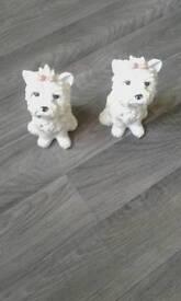 Beautiful dog ornaments