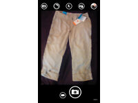Women's Trousers Size 8 Short . New with tags .