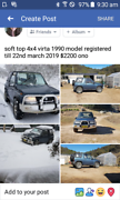 soft top Suzuki vitara 1990 4x4wd Wyndham Bega Valley Preview