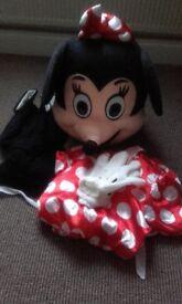 Minnie mouse mascot