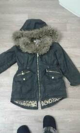 10/11 girls winter coat