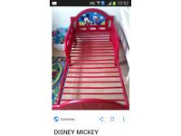 Micky bed mattress & protecter