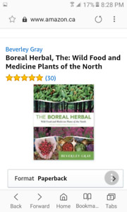 Boreal Gourmet by M. Genest and The Boreal Herbal by Bev Gray