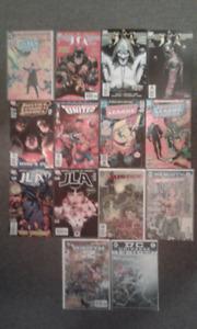 JLA/JSA Comic book bundle (#1's and Variants included)