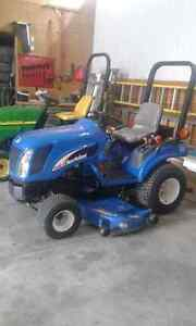 "24 HP New Holland Diesel Tractor w/60"" Mower Deck For Sale"
