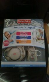 Fisher price sounds 'n lights baby monitor