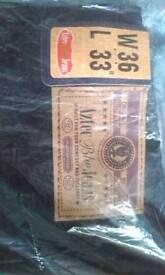 Black Jeans W36 L33 (2 pairs BNWT)