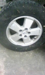 4 TIRES INSTALLED AND BALANCED 60$ London Ontario image 1