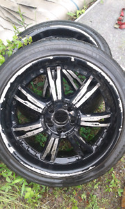 20 inch rims with tires