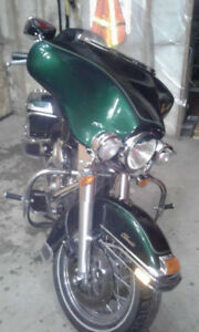 1999 Electra Glide Classic Green