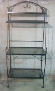 HEAVY STEEL BAKER'S RACK IN PERFECT CONDITION