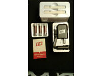 FIN electronic cigarette Deluxe Kit on Sale 40% off + FREE Delivery