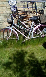 3 Bikes for Parts