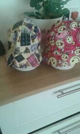 Baby sun hats.
