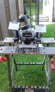 """Delta 6"""" Bench Grinder with Light Located in Marmora"""