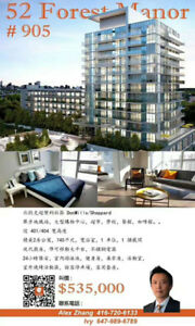 North York Brand New 2 Bedroom 2 Bathroom Condo Assignment Sale!