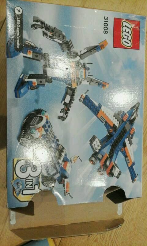 Lego creator 3 in 1 set 31008