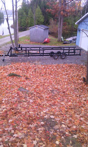 rent pontoon trailer Kawartha Lakes Peterborough Area image 1