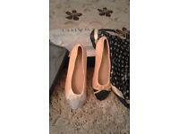 leather flats was 120 will accept 35 brand new unwanted gift wrong size also come with box