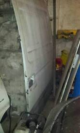 Iveco daily side loading door