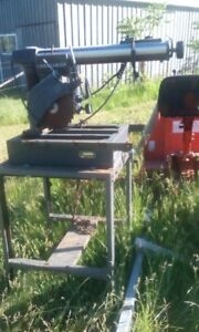 Radial Arm Saw and Table Saw