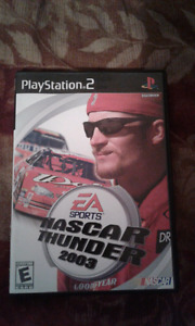 NASCAR thunder 2003 (ps2) mint condition!!!