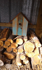 Hand made bird house