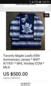 Circa 1931 toronto maple leafs limited edition jersey