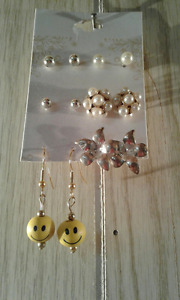 FURTHER REDUCED!-BRAND NEW!!!! Lovely Earrings set! SIX PAIRS
