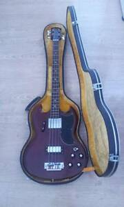 1973 GRECO SG BASS CHERRY RED Newcastle Newcastle Area Preview