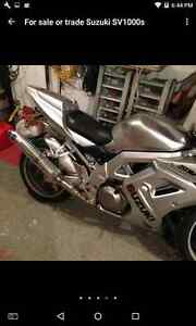 For Sale 2003 SV1000s only 33000km