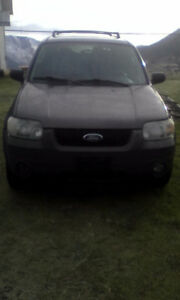 2006 Ford Escape SUV, Crossover swap $2500 value