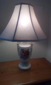 Vintage antique Victorian lamp