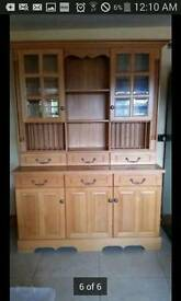 Oak kitchen dresser