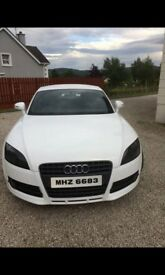 White Audi TT 2.0 FSI 2008. Full service history. MOT until June 2018